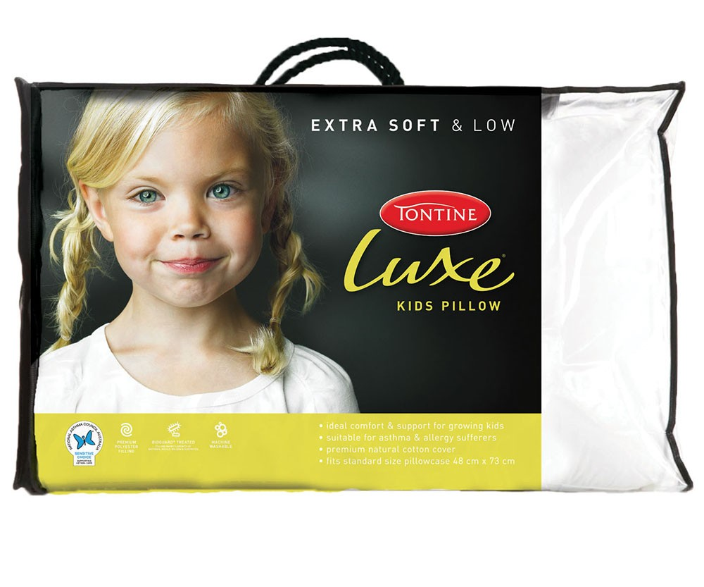 Best Price Linen Luxe Allergy Sensitive Kids Pillow By