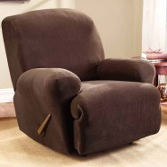 Coffee Recliner Chair Cover by Surefit