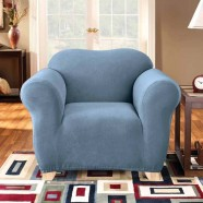 Federation Blue 1 Seater Chair Cover by Surefit