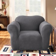 Slate 1 Seater Chair Cover by Surefit