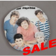 One Direction Design 3 Round Cushion