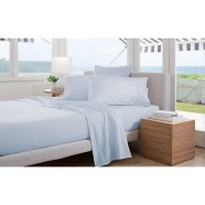 300 Thread Count Classic Percale Sheeting Range in Breeze by Sheridan