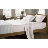 400 Thread Count Soft Sateen Sheeting Range in Nude by Sheridan