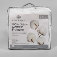 Cotton Mattress/Pillow Protectors by Logan & Mason