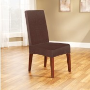 Coffee Dining Chair Cover by Surefit
