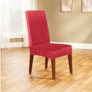 Red Dining Chair Cover by Surefit