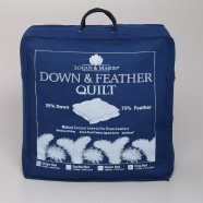 25% Down/75% Feather Quilt by Logan & Mason