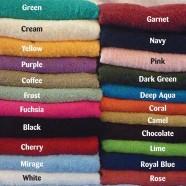 100% Cotton Towel Range