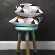 Geo Square Cushions by Logan & Mason