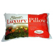 Luxury Sateen Fibre Ball Adult Size Pillow by Easyrest
