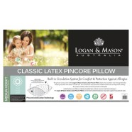 Classic Latex Pincore Pillow by Logan & Mason