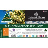 Blended Microfibre Pillow by Logan & Mason