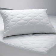 Quilted Polyester/Cotton Mattress/Pillow Protectors by Logan & Mason