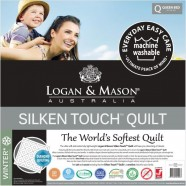 Silken Touch Quilt by Logan & Mason