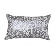 Safari Pewter Cushion by Private Collection