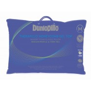 Dunlopillo Therapillo Medium Profile Memory Foam Honeycomb Gel Top Pillow by Tontine
