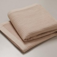 Cotton Waffle Blanket by Logan & Mason
