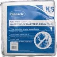 PVC & Terry Top Waterproof Mattress Protector by Pinnacle