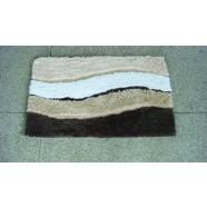 Microfibre Wave Brown Bathmat Range
