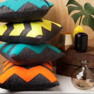 Zeke Square Cushions by Logan & Mason