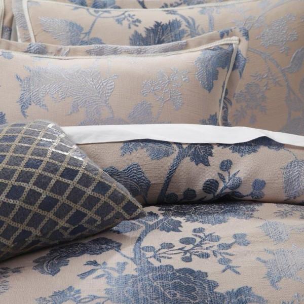 Ambrosia Indigo By Da Vinci Private Collection Quilt