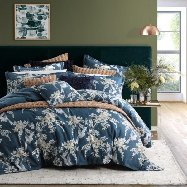 Anais Indigo By Private Collection Quilt Covers Best