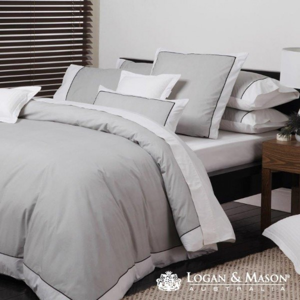 Essex Pewter By Logan Amp Mason Quilt Covers Best Price