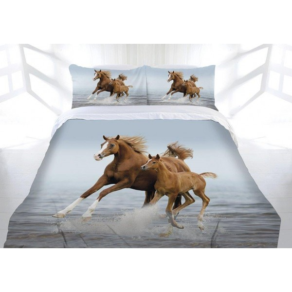 Frolicking Horse Quilt Cover Set Quilt Covers Best