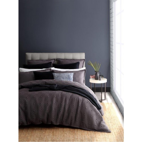 Kalvin Charcoal By Royal Doulton Quilt Covers Best