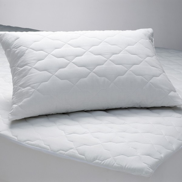 Quilted Polyester Cotton Mattress Pillow Protectors By