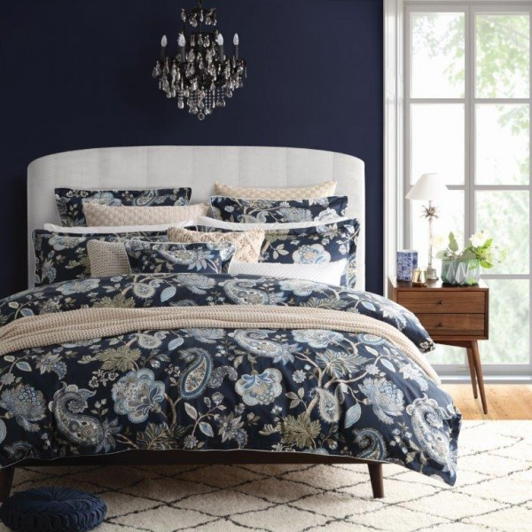 Toorak Navy By Private Collection Quilt Covers Best