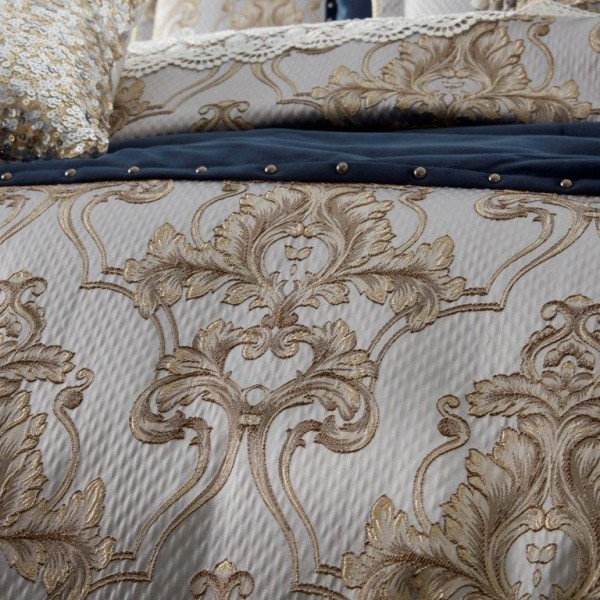 Windsor Gold Quilt Cover Set By Davinci Best Price Linen