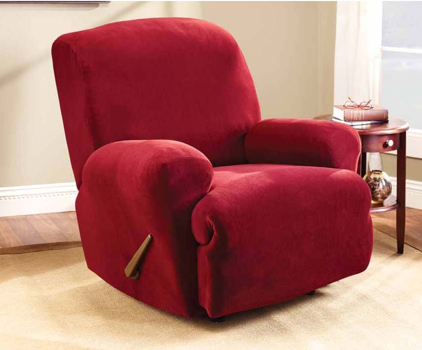Red Recliner Chair Cover by Surefit