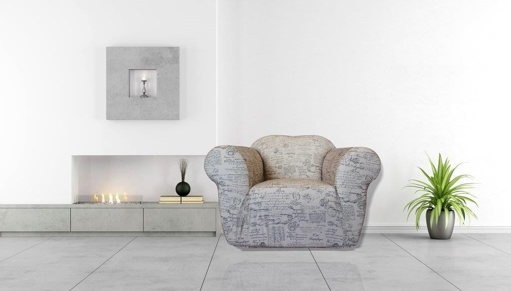 Signature Natural 1 Seater Chair Cover by Surefit