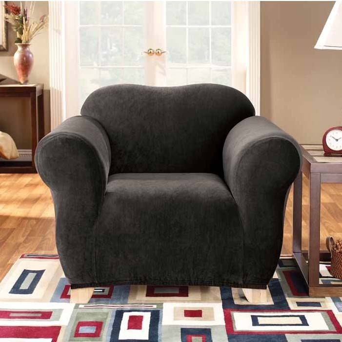 Ebony 1 Seater Chair Cover by Surefit