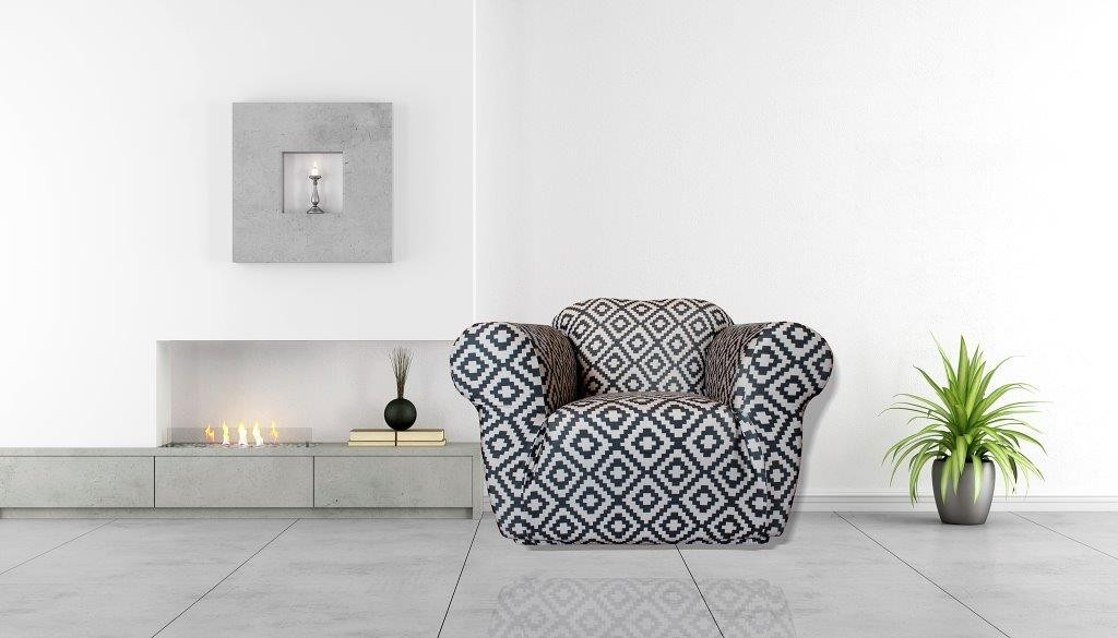 Tribal 1 Seater Chair Cover by Surefit