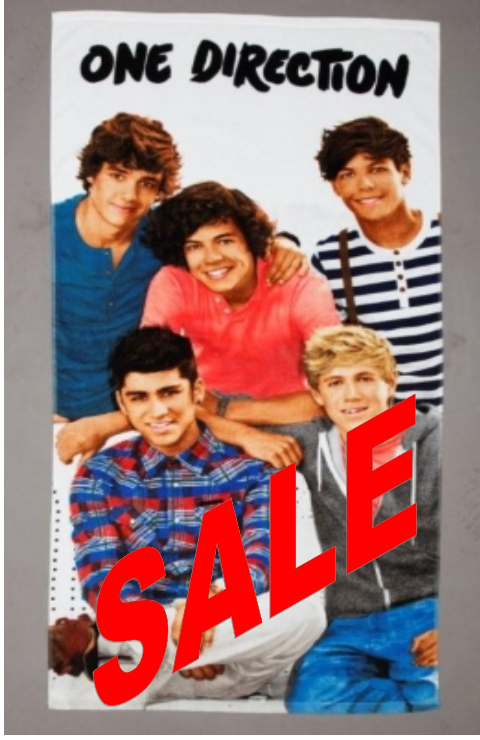 One Direction Design 3 Beach Towel