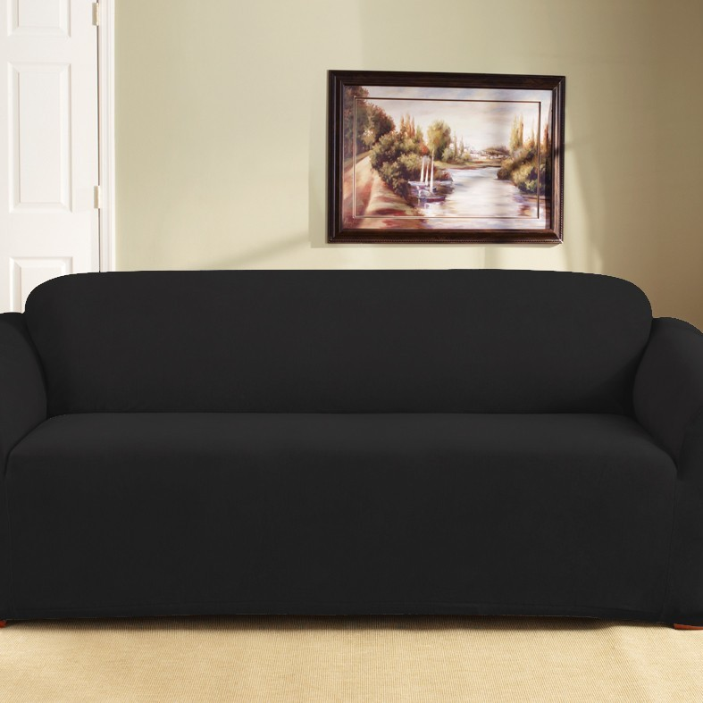 Ebony 3 Seater Couch Cover by Surefit