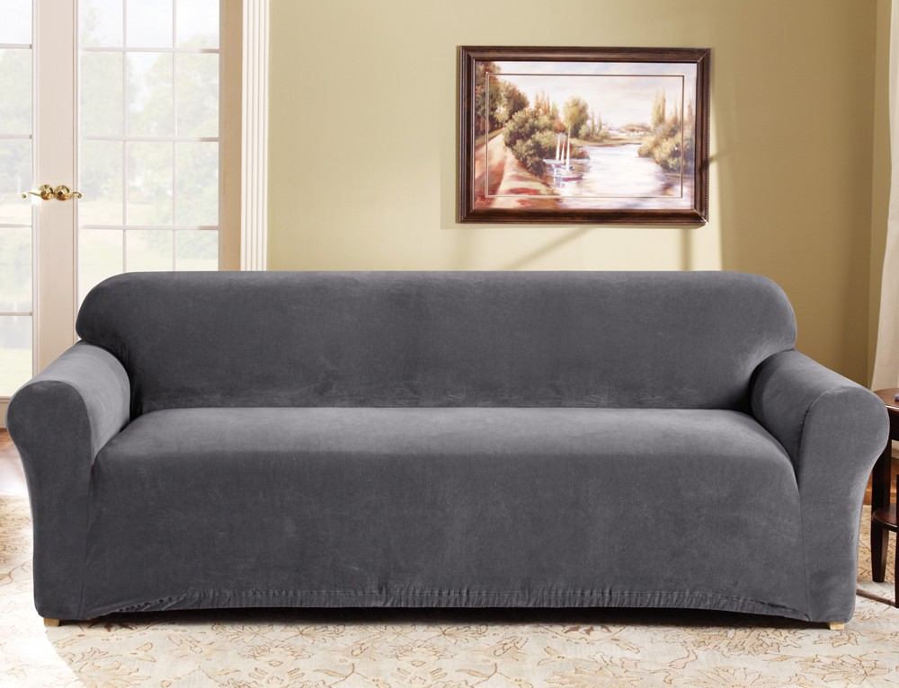 Slate 3 Seater Couch Cover By Surefit Couch Covers
