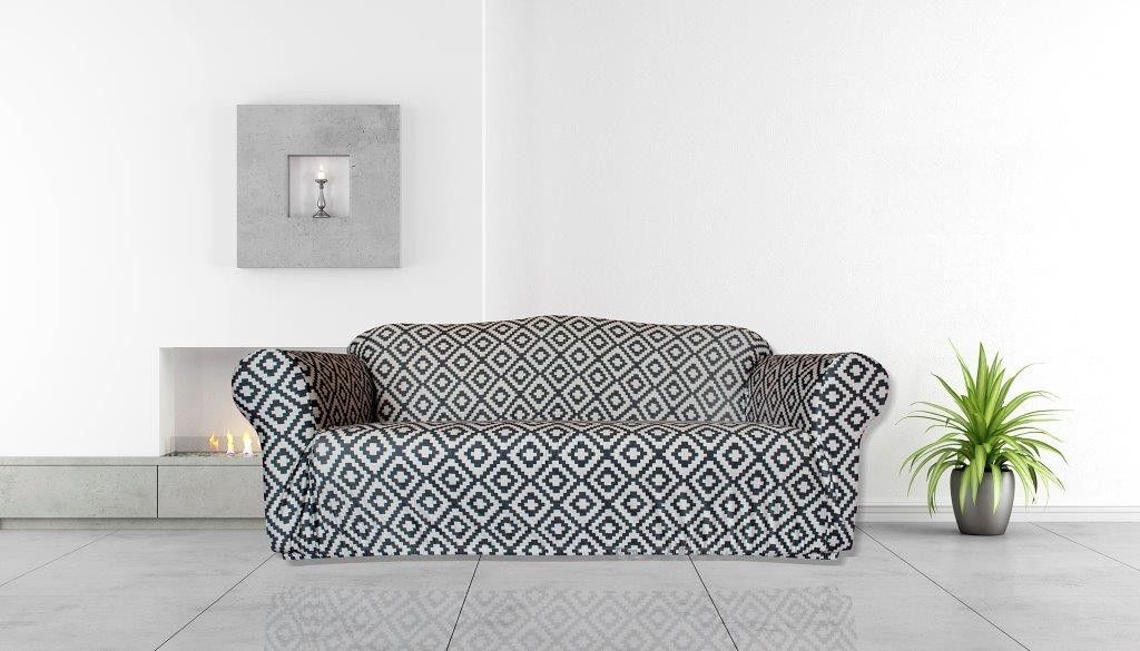 Tribal 3 Seater Couch Cover by Surefit