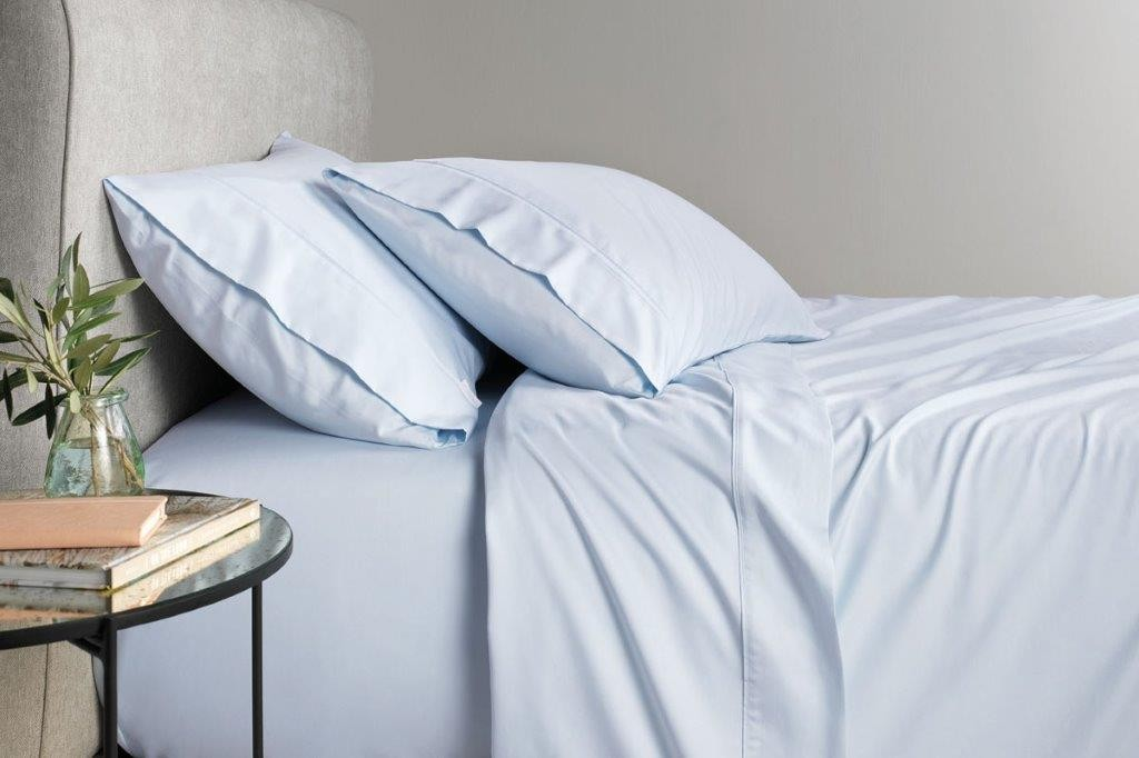 TENCEL™ Lyocell fibre & cotton sheet set Breeze by Sheridan