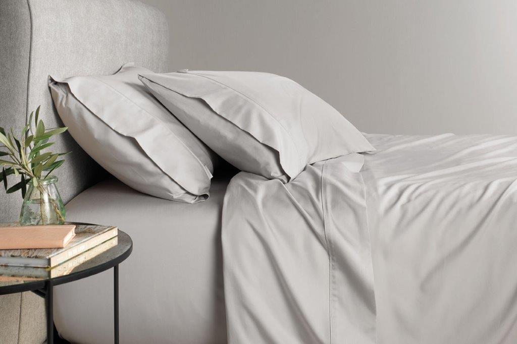 TENCEL™ Lyocell fibre & cotton sheet set Dove by Sheridan