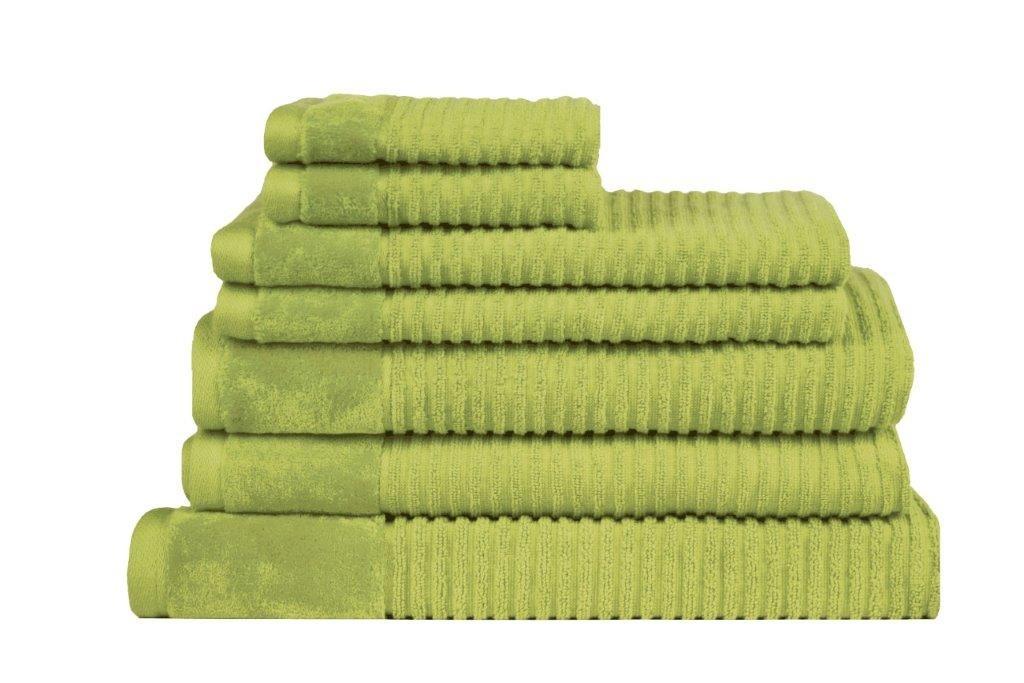 Royal Excellence 7 Piece Cotton Towel Set Spearmint