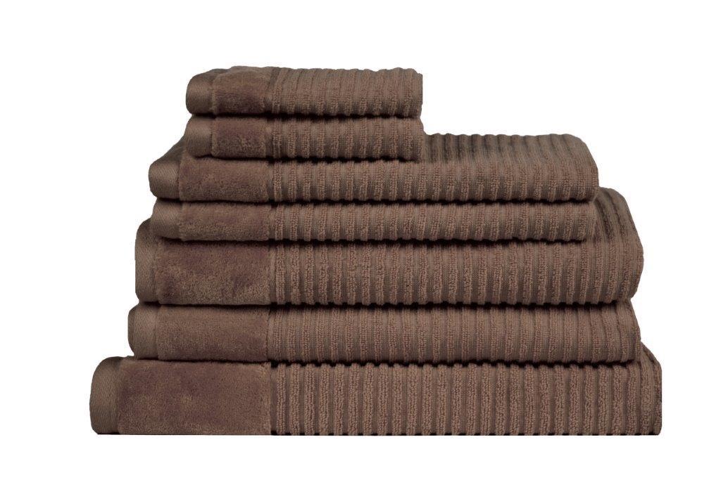Royal Excellence 7 Piece Cotton Towel Set Mocha