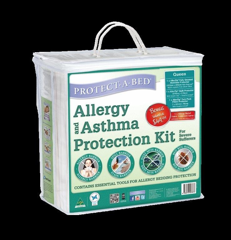 Allergy & Asthma Protection Kit by Protect A Bed