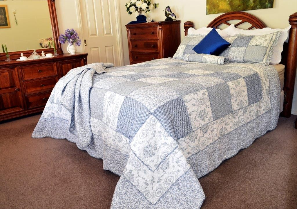 Alouette Quilted Coverlet