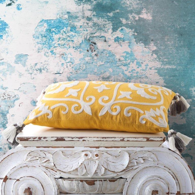 Amici Spice Decorator Cushion by Logan & Mason