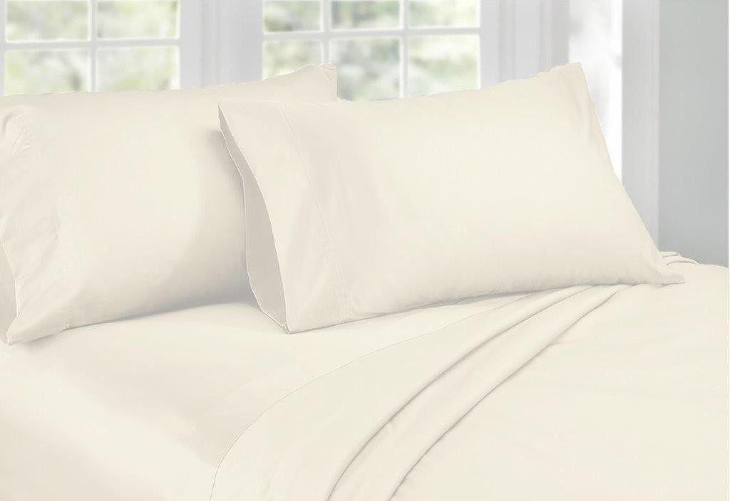1000 Threadcount Cotton Rich Sheet Set Ivory by Ardor