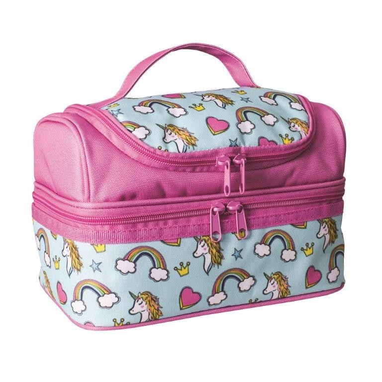 Avanti Yum Yum Double Decker Lunch Bag Unicorn