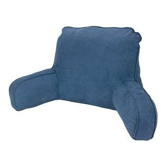 Micro Suede Back Rest Navy by Easyrest